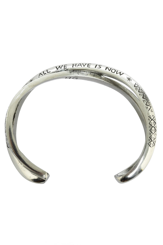 All We Have Is Now Bangle|All We Have Is Now Armreif