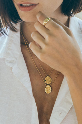 The Antidote Necklace - gold