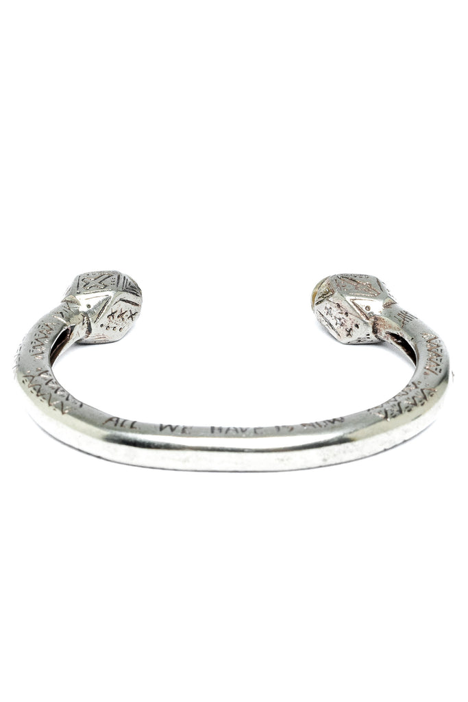 The Cayman Arrow Bangle - Silver Gold