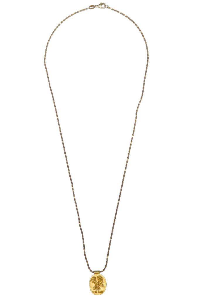 The Wild Rose Necklace - gold|The Wild Rose Halskette - gold