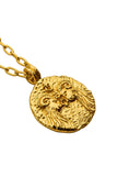 The golden Zodiac Necklace - Passionate Aries|Gold Sternzeichen Halskette - Widder