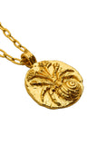 The golden Zodiac Necklace - Intuitive Cancer|Gold Sternzeichen Halskette - Krebs