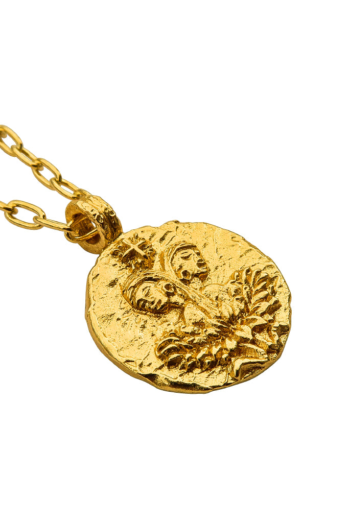 The golden Zodiac Necklace - Playful Gemini|Gold Sternzeichen Halskette - Zwillinge