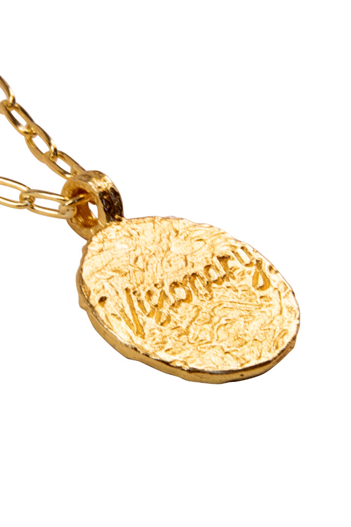 The golden Zodiac Necklace - Visionary Pisces|Gold Sternzeichen Halskette - Fische