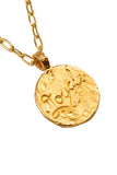 The golden Zodiac Necklace - Loyal Taurus|Gold Sternzeichen Halskette - Stier
