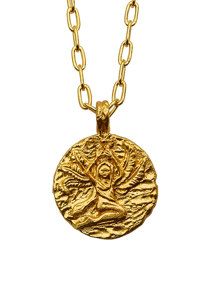 The golden Zodiac Necklace - Kind Virgo|Gold Sternzeichen Halskette - Jungfrau