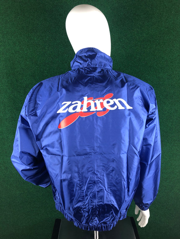 Zahren Oil Nylon Windbreaker Jacket - Size XL