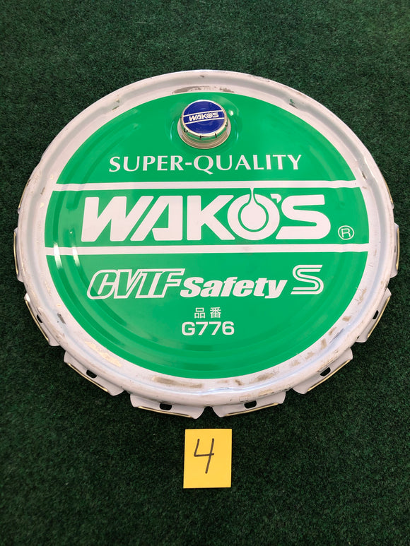 Wako's Oil - CVTF Safety S - 20L Green Oil Can Lid