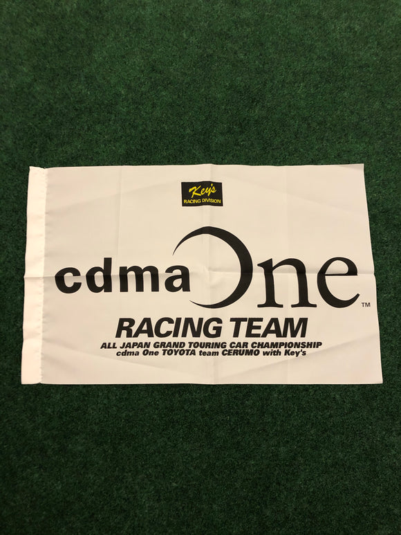 CDMA ONE JGTC Toyota Supra Race Day Flag