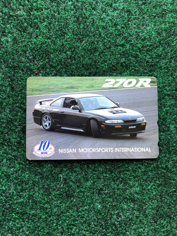 Nissan NISMO 10th Anniversary Prepaid Japan Telephone Card Set - Silvia 270R
