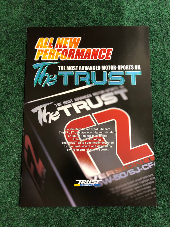 The TRUST Oil Products Line Up Catalog