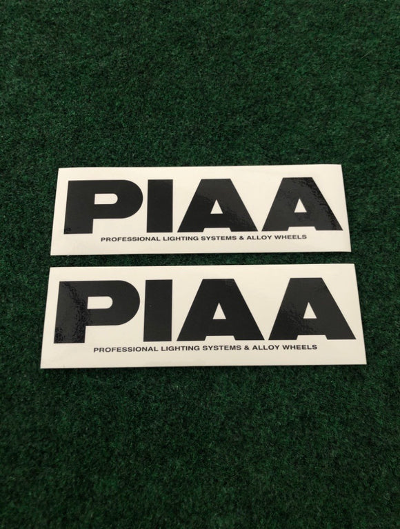 PIAA Sticker Set of 2