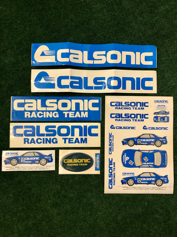 CALSONIC Nissan Skyline R32 GTR Group A Vintage Sticker Set #2