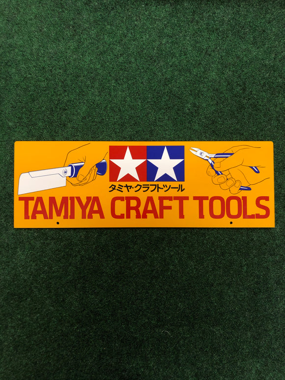 TAMIYA Craft Tools Unused Plastic Signboard Display
