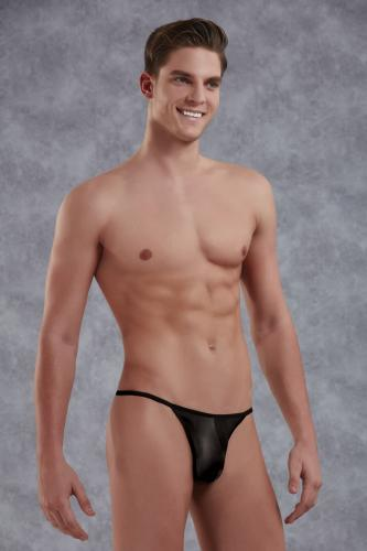 Space Black Men's Thong