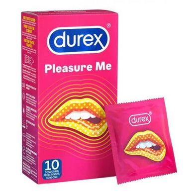 Durex Pleasure Me Condoms - 10 Condoms