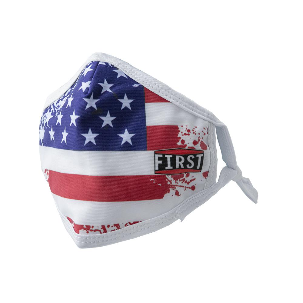 USA Flag Face Mask - (5 Pack)