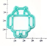 Android Logo Cookie Cutter