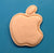Apple Logo Cookie Cutter