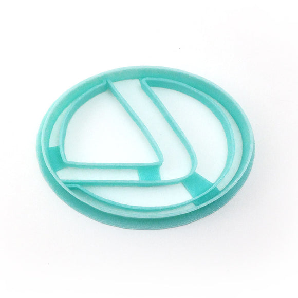 Lexus Car Logo Cookie Cutter