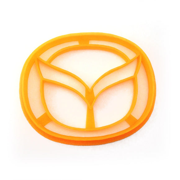 Mazda Car Logo Cookie Cutter