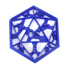 D20 Dice Cookie Cutter