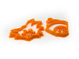 DBZ Goku and Gohan Cookie Cutter Set