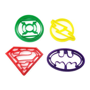 DC Comics 4 Cookie Cutter Set
