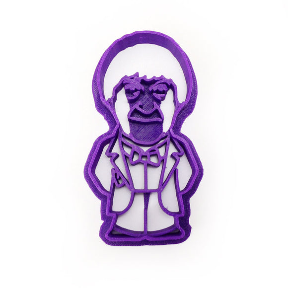 Doctor Who 2nd Doctor Cookie Cutter