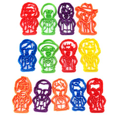 Doctor's 1-12 from Doctor Who Cookie Cutter Set
