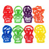 Doctor Who Classic Doctors Cookie Cutter Set
