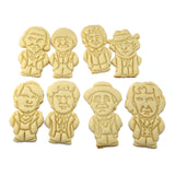 Doctor Who 6th Doctor Cookie Cutter