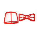 Doctor Who Fez and Bow Tie Cookie Cutter Set