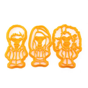Doctor Who The Ponds Cookie Cutter Set