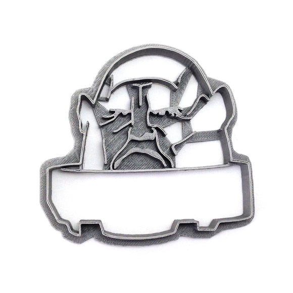 Doctor Who Sontaran Cookie Cutter