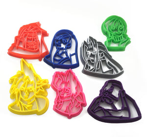 Final Fantasy 7 Cookie Cutter Set