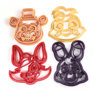 Five Nights at Freddy's Cookie Cutter Set