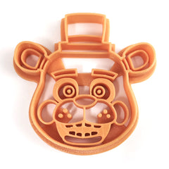 Freddy Fazbear from Five Nights at Freddy's Cookie Cutter