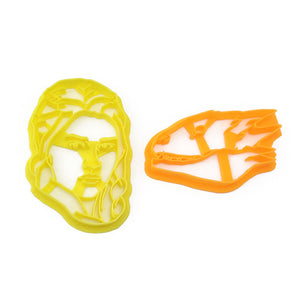 Game of Thrones Daenerys Targaryen and Dragon Cookie Cutter Set
