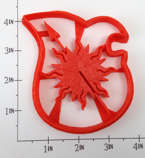 Game of Thrones Martell Sigil Cookie Cutter