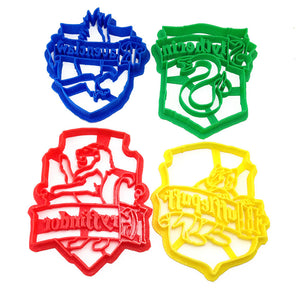 Harry Potter House Crest Set