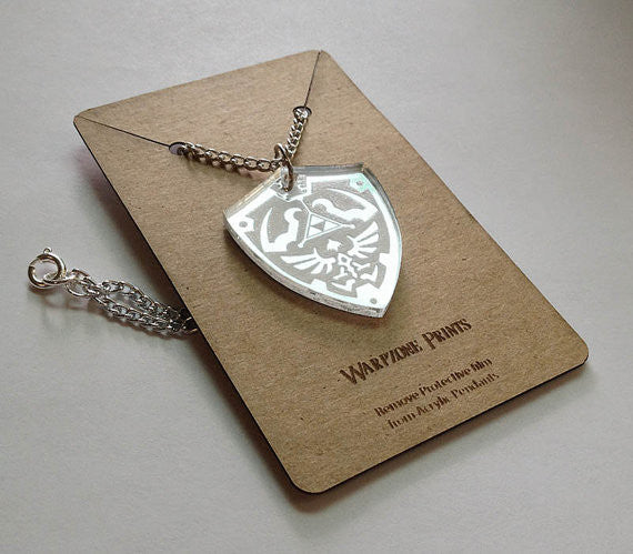 Zelda - Hyrule Shield - Necklace