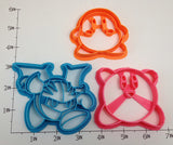 Kirby Waddle Dee and Metaknight Cookie Cutter Set