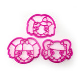 Lalaloopsy Girls 3 Cookie Cutter Set