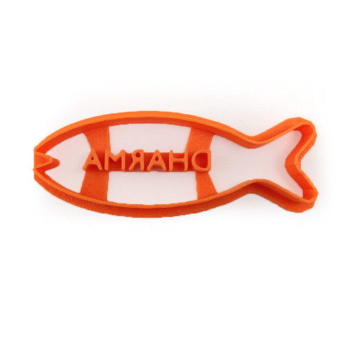 Lost Fish Biscuit DHARMA Logo Cookie Cutter