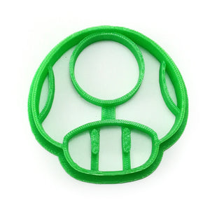 Super Mario 1-Up Mushroom Cookie Cutter
