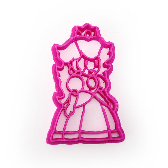 Paper Mario Princess Peach Cookie Cutter
