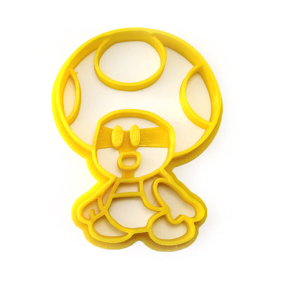 Paper Mario - Toad Cookie Cutter