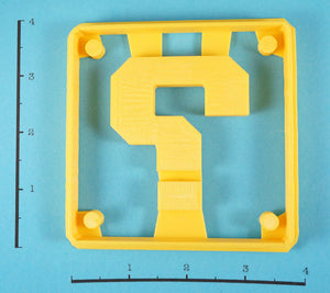 Mario Block Cookie Cutter