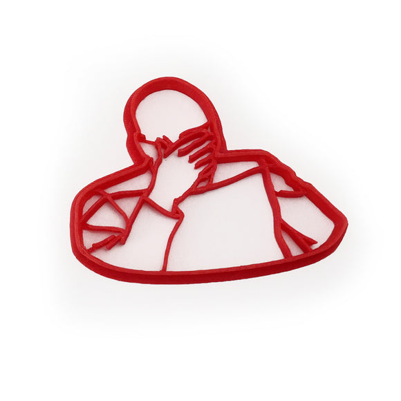 Picard Face Palm Cookie Cutter